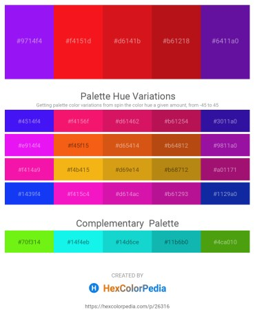 Palette image download - Dark Violet – Red – Crimson – Firebrick – Indigo