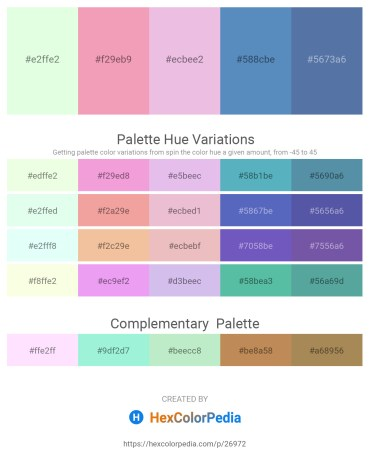 Palette image download - Honeydew – Light Coral – Plum – Steel Blue – Steel Blue