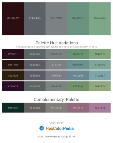 Palette image download - Lime – Slate Gray – Slate Gray – Cadet Blue – Dark Sea Green