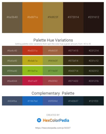 Palette image download - Dark Olive Green – Chocolate – Olive Drab – Yellow Green – Black