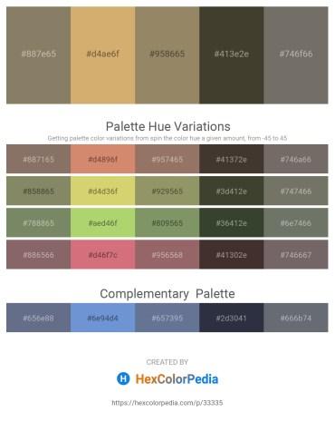 Palette image download - Gray – Burlywood – Gray – Beige – Dim Gray