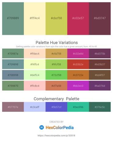 Palette image download - Cadet Blue – Lemon Chiffon – Dark Khaki – Brown – Dark Khaki