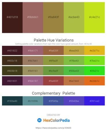 Palette image download - Midnight Blue – Rosy Brown – Dark Cyan – Yellow Green – Misty Rose
