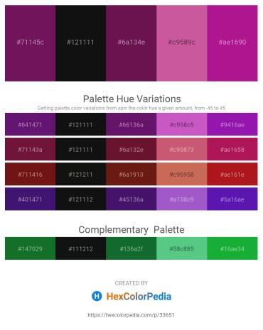 Palette image download - Indigo – Black – Medium Orchid – Pale Violet Red – Medium Violet Red