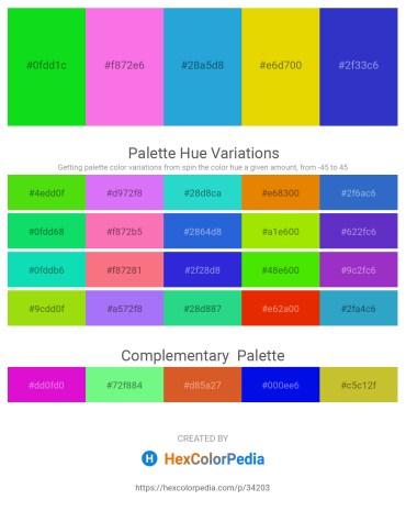 Palette image download - Lime – Violet – Black – Gold – Royal Blue