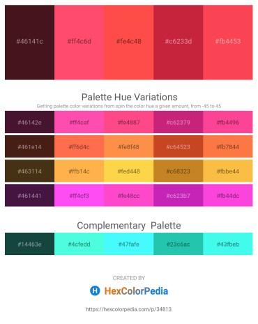Palette image download - Indigo – Tomato – Tomato – Firebrick – Tomato