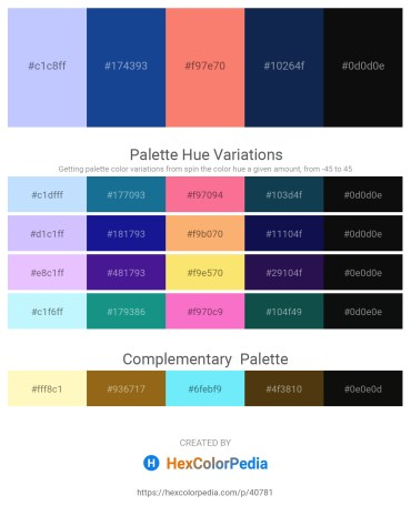 Palette image download - Alice Blue – Midnight Blue – Salmon – Midnight Blue – Rosy Brown