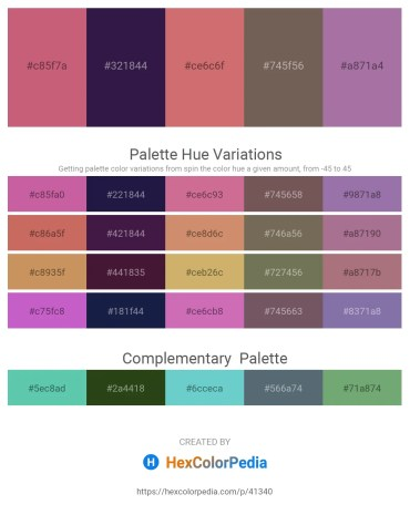 Palette image download - Indian Red – Midnight Blue – Indian Red – Dim Gray – Rosy Brown