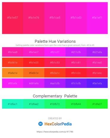 Palette image download - Deep Pink – Deep Pink – Deep Pink – Magenta – Magenta