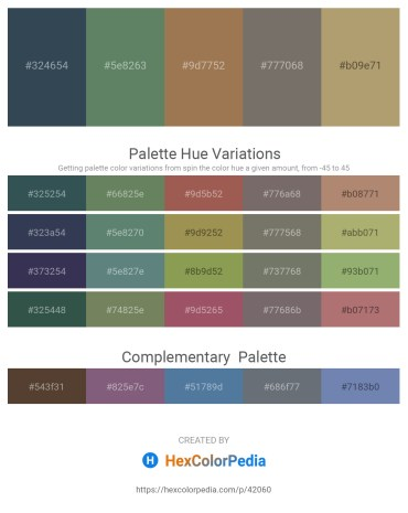 Palette image download - Dark Slate Gray – Cadet Blue – Tomato – Dim Gray – Dark Khaki