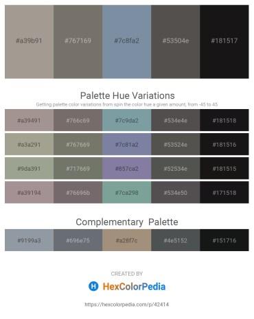 Palette image download - Dark Gray – Dim Gray – Light Slate Gray – Dim Gray – Black
