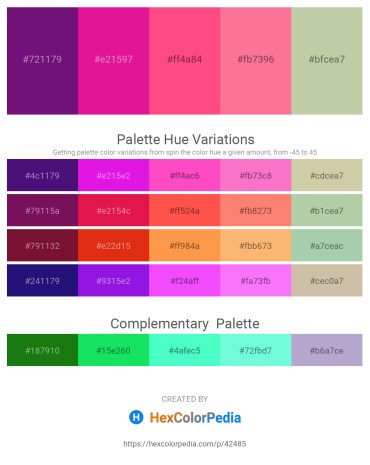 Palette image download - Indigo – Medium Violet Red – Hot Pink – Hot Pink – Dark Sea Green