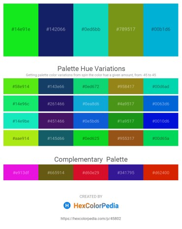 Palette image download - Lime – Midnight Blue – Dark Turquoise – Olive Drab – Dark Turquoise