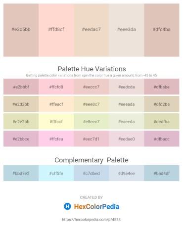 Palette image download - Tan – Misty Rose – Beige – Beige – Tan