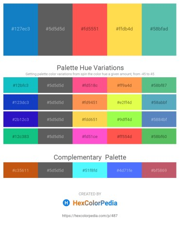 Palette image download - Dark Cyan – Dim Gray – Tomato – Tomato – Medium Aquamarine