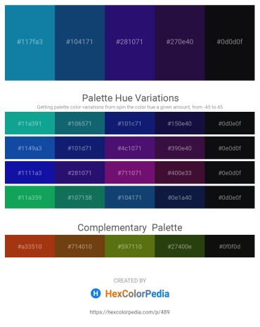 Palette image download - Dark Cyan – Midnight Blue – Midnight Blue – Midnight Blue – Medium Aquamarine