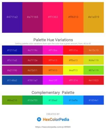 Palette image download - Indigo – Medium Violet Red – Deep Pink – Orange Red – Goldenrod