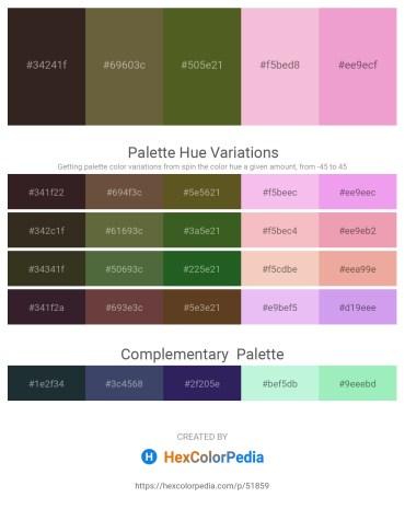 Palette image download - Black – Dark Olive Green – Dark Olive Green – Gray – Violet
