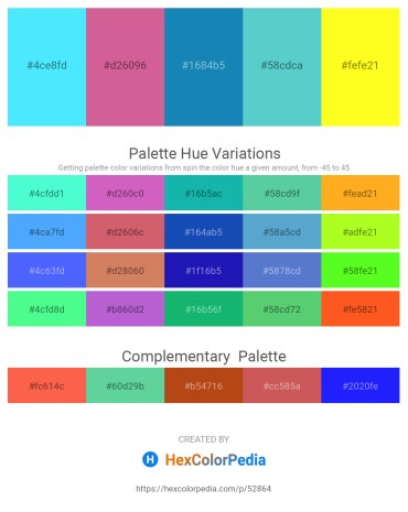Palette image download - Light Sky Blue – Pale Violet Red – Alice Blue – Medium Turquoise – Yellow