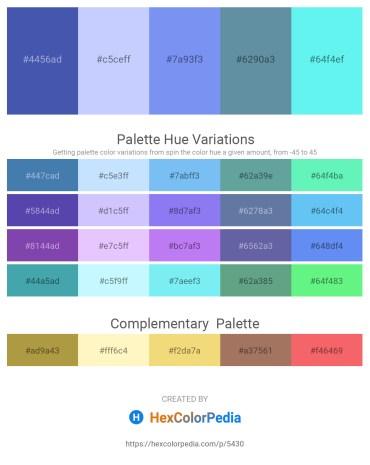 Palette image download - Steel Blue – Alice Blue – Cornflower Blue – Cadet Blue – Slate Gray