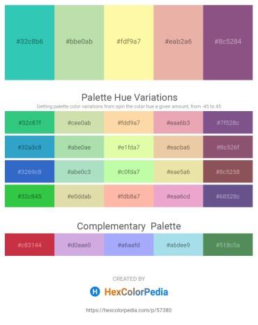 Palette image download - Medium Turquoise – Crimson – Moccasin – Burlywood – Dark Violet