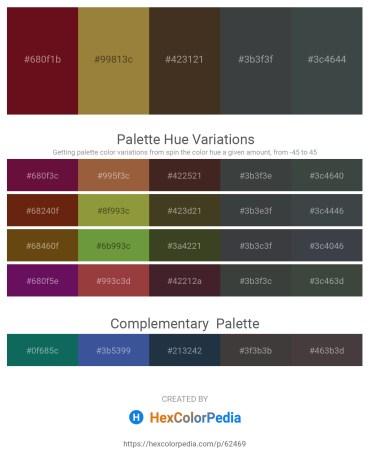 Palette image download - Aqua – Light Slate Gray – Rosy Brown – Dark Slate Gray – Dark Slate Gray