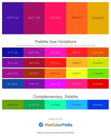 Palette image download - Indigo – Medium Violet Red – Deep Pink – Orange Red – Orange