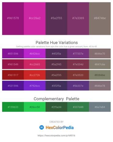 Palette image download - Medium Violet Red – Medium Violet Red – Alice Blue – Pale Green – Gray