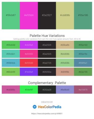 Palette image download - Medium Aquamarine – Magenta – Black – Tan – Cadet Blue