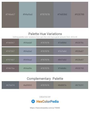 Palette image download - Dim Gray – Light Slate Gray – Gray – Slate Gray – Gray