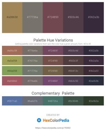 Palette image download - Dark Khaki – Dim Gray – Dim Gray – Dim Gray – Dark Khaki