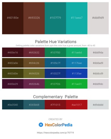 Palette image download - Midnight Blue – Sienna – Teal – Light Sea Green – Gainsboro