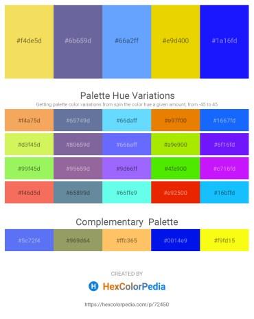 Palette image download - Lavender – Slate Gray – Light Sky Blue – Gold – Blue