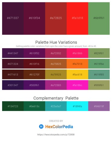 Palette image download - Turquoise – Plum – Brown – Red – Dark Sea Green