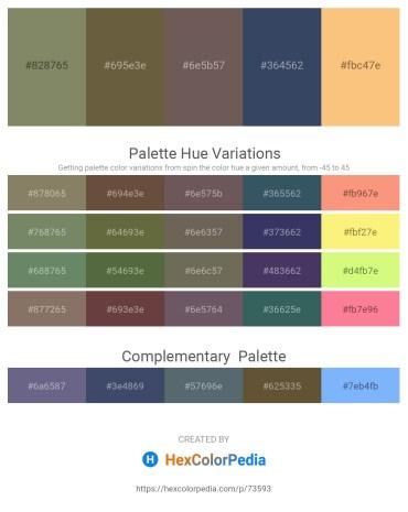 Palette image download - Gray – Dark Olive Green – Dim Gray – Dark Slate Gray – Light Salmon
