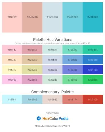 Palette image download - Pink – Burlywood – Light Steel Blue – Sky Blue – Medium Turquoise