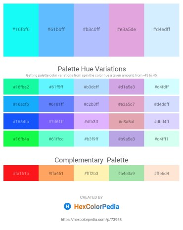 Palette image download - Aqua – Light Sky Blue – Light Sky Blue – Plum – Light Cyan