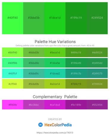 Palette image download - Lime – Lime Green – Lime Green – Forest Green – Forest Green