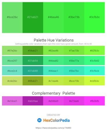 Palette image download - Light Green – Forest Green – Lime Green – Lime Green – Lime