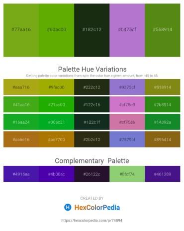Palette image download - Olive Drab – Olive – Navajo White – Medium Orchid – Olive Drab