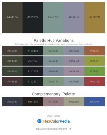 Palette image download - Dim Gray – Dark Slate Gray – Light Slate Gray – Light Slate Gray – Red