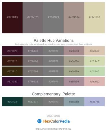 Palette image download - Aqua – Dim Gray – Gray – Rosy Brown – Tan