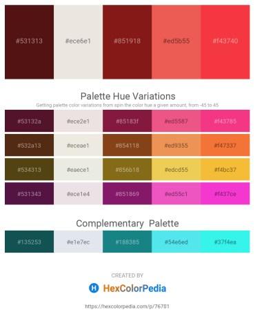 Palette image download - Aqua – Gainsboro – Saddle Brown – Light Coral – Tomato