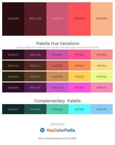 Palette image download - Lime – Brown – Indian Red – Tomato – Light Salmon