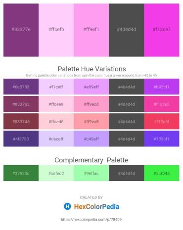 Palette image download - Brown – Lavender Blush – Pink – Dim Gray – Magenta