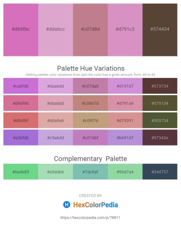 Palette image download - Orchid – Plum – Rosy Brown – Plum – Alice Blue
