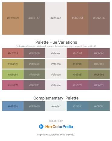 Palette image download - Dark Khaki – Dim Gray – White Smoke – Rosy Brown – Gray