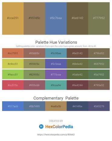 Palette image download - Peru – Sienna – Steel Blue – Dark Olive Green – Dark Olive Green