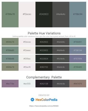 Palette image download - Slate Gray – White Smoke – Dark Slate Gray – Dim Gray – Light Slate Gray