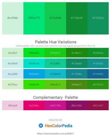 Palette image download - Powder Blue – Black – Lime Green – Forest Green – Teal